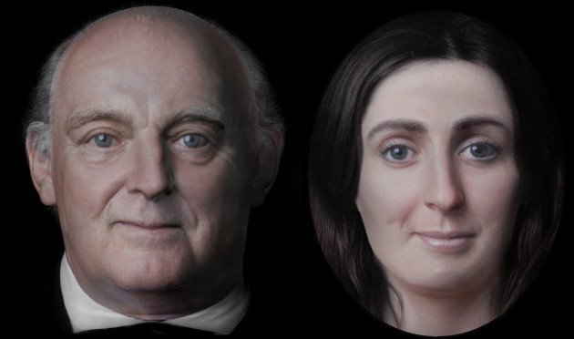 Researchers 3D Reconstruct Face Of Famous Irish Writer Jonathan Swift And His Muse Johnson | All3DP