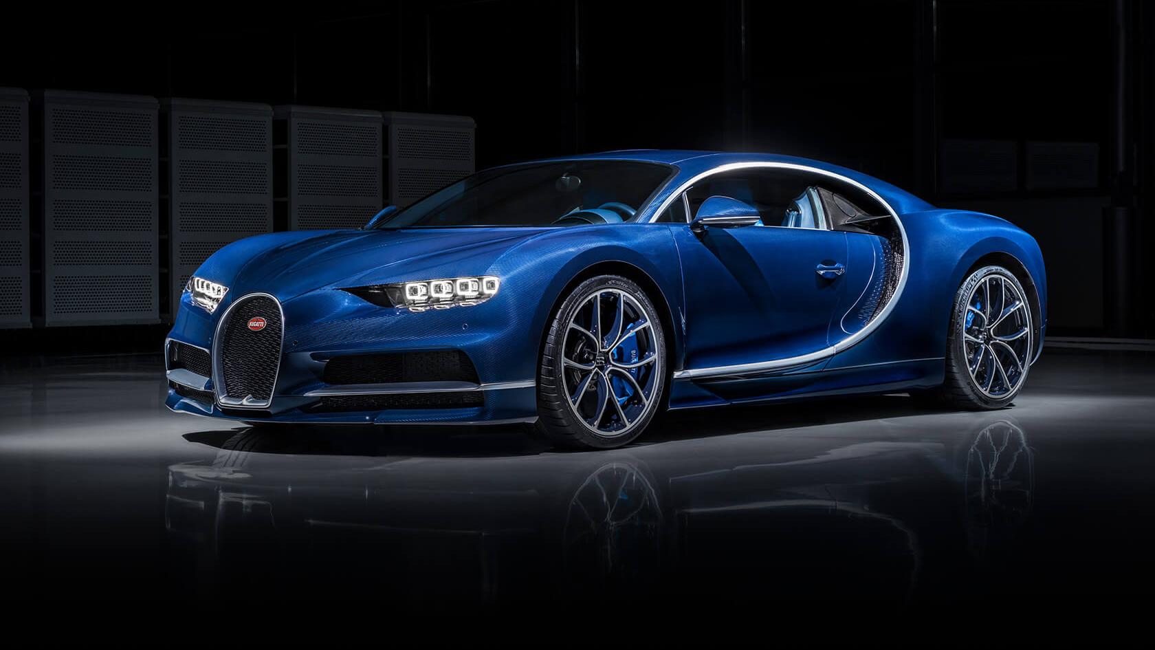 Bugatti Chiron Testing a 3D Printed Titanium Brake Caliper | All3DP
