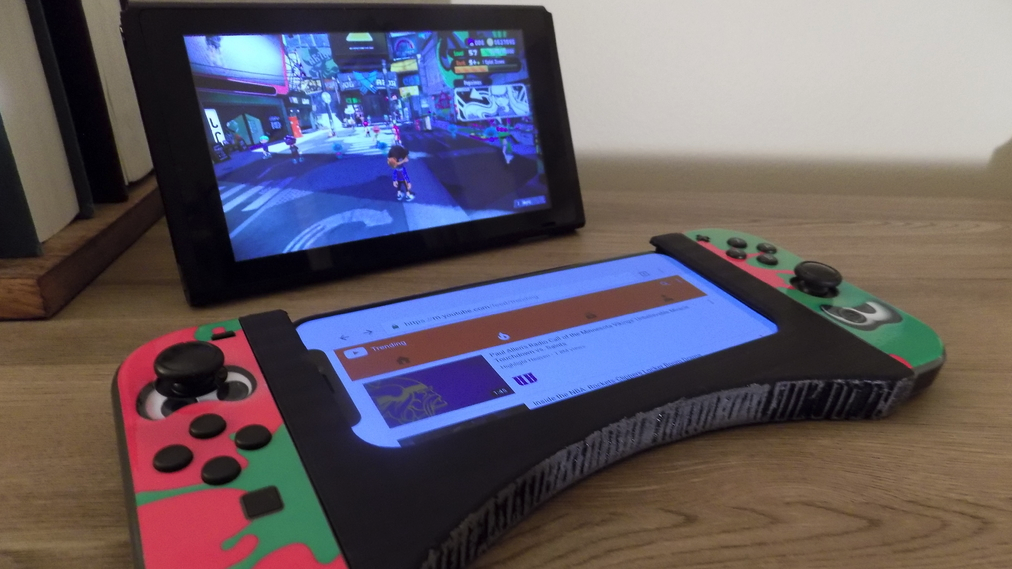 3D Print a Joy-Con Grip For Your Smartphone | All3DP