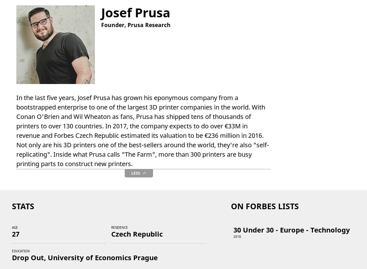 prusa forbes