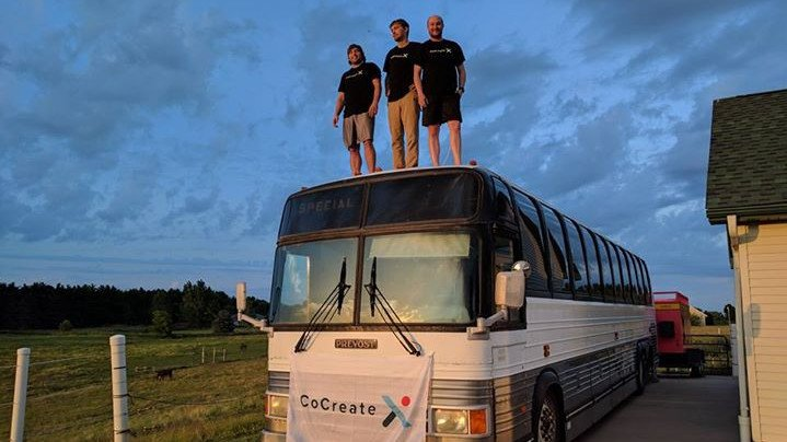 CoCreateX Bus Hits the Road to Inspire Communities with STEM and 3D Printing | All3DP