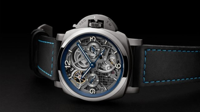 Featured image of Panerai Presents 3D Printed Tourbillon Watch at SIHH 2018