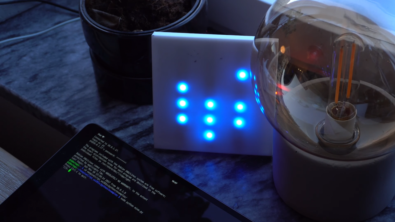 YouTuber Builds Binary Clock | All3DP