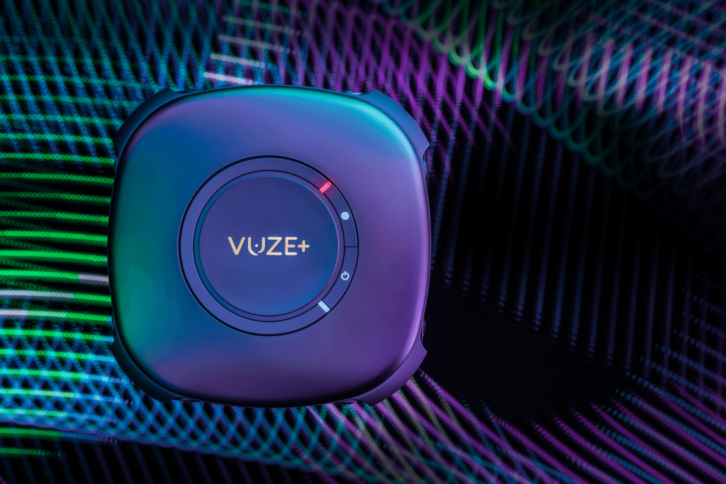 Top view of the Vuze+