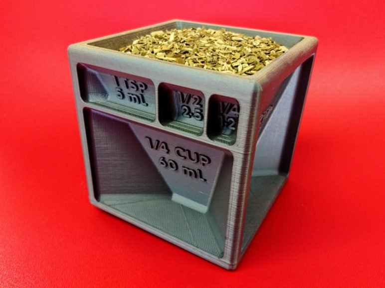 Image of Cool Things to 3D Print: Measuring Cube