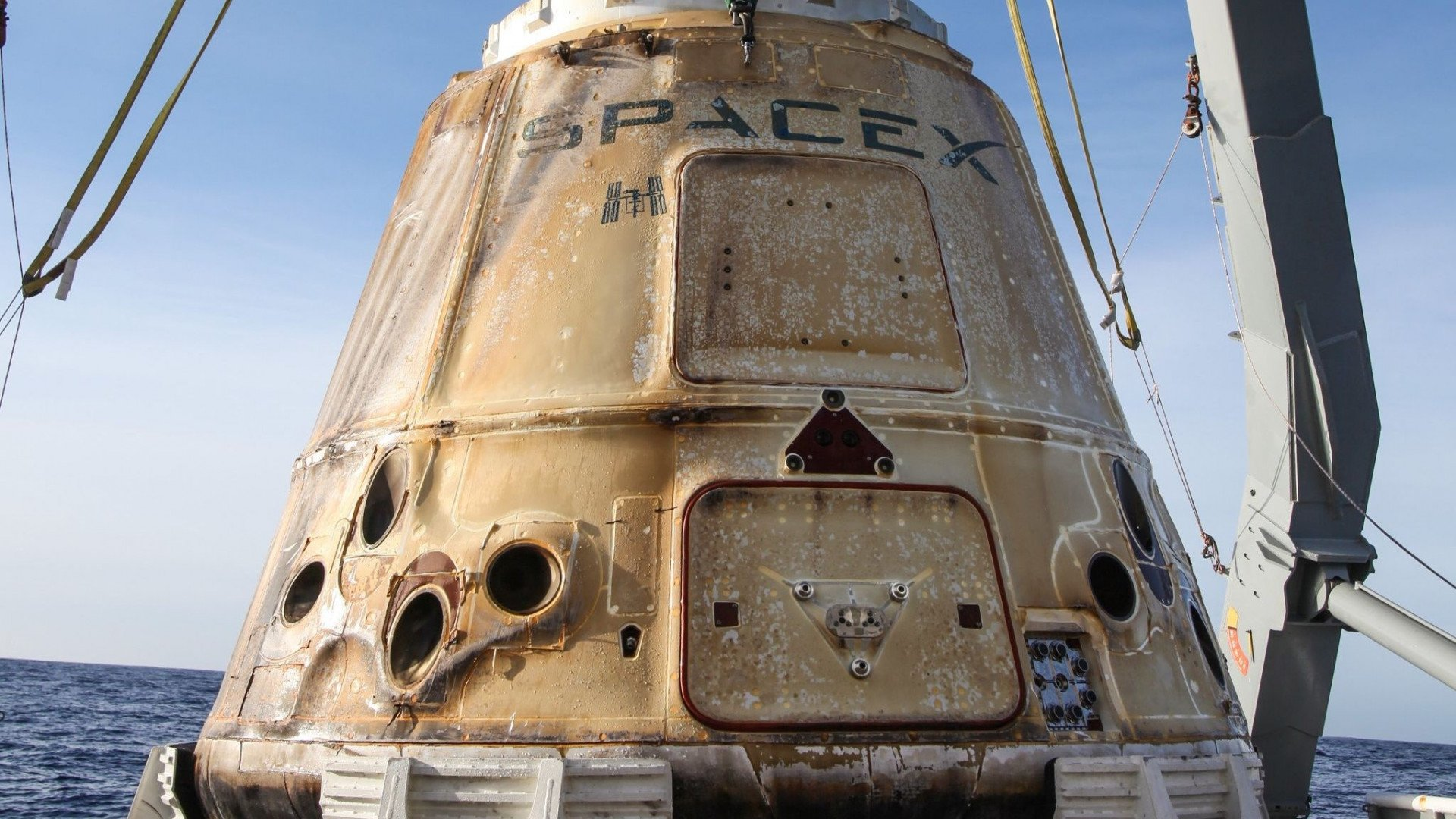 SpaceX Research Vessel Returns to Earth | All3DP
