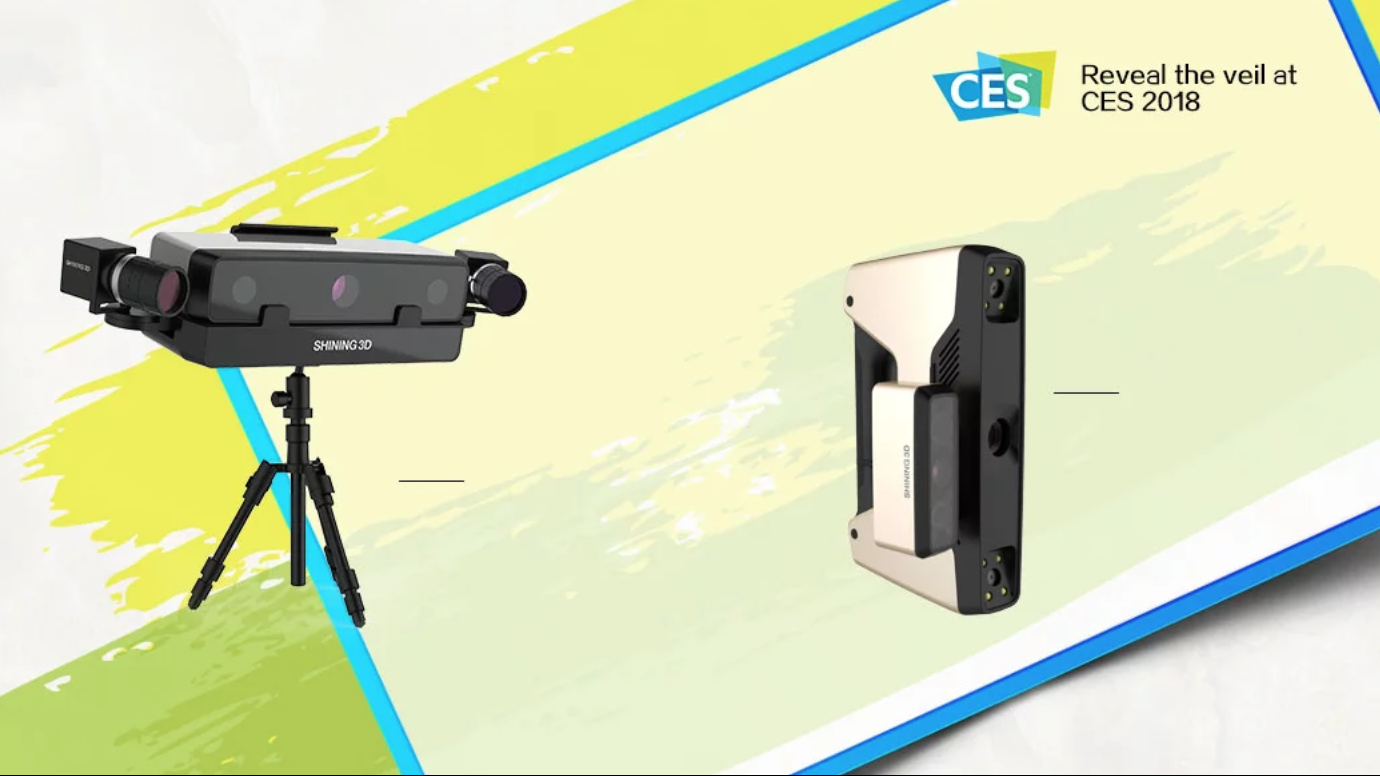 Shining 3D Upgrades EinScan Scanning System, Partners With TechMed 3D | All3DP