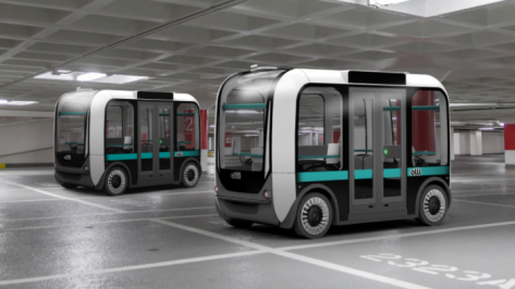 Featured image of Olli, 3D Printed Bus from Local Motors, Receives $1 Billion in Financing