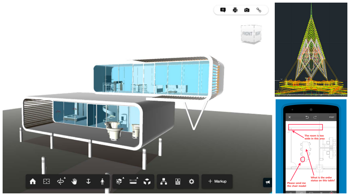 12 best free autocad dwg viewers in 2019 all3dp for Autodesk online home design