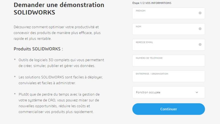 Image of SolidWorks gratuit - Versions d'essai: Version complète de SolidWorks