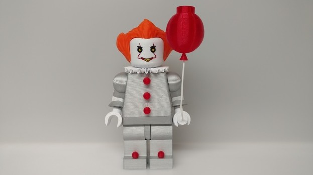 Image of 3D Print Lego: Giant Lego Pennywise