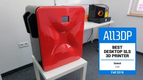 Featured image of 2018 Sinterit Lisa Review – Best Desktop SLS 3D Printer