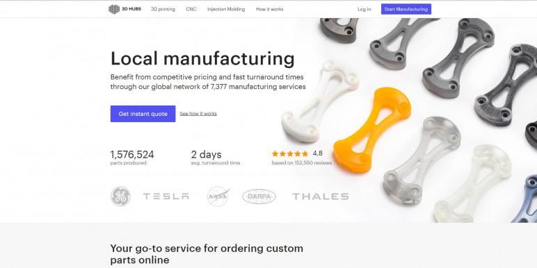 Image of Online 3D Printing Service: 3D Hubs