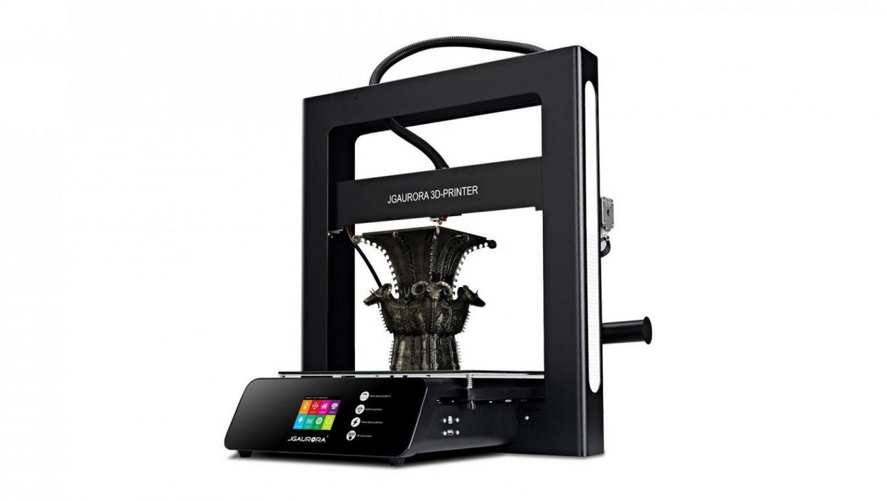 Jgaurora A5s 3d Drucker Top Qualität Desktop Printing Maschine Mit Touchscreen Große Bauen Größe 305*305*320mm Büroelektronik Computer & Büro
