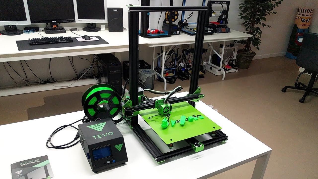 Featured image of Imprimante 3D TEVO Tornado: les points-clés