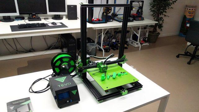 Imagen principal de Impresora 3D TEVO Tornado: características y datos clave