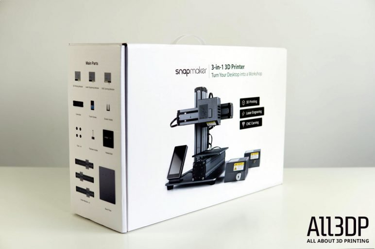 Image of Snapmaker 3-in-1 3D Printer Review: Unboxing