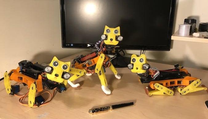 OpenCat: 3D Print Your Own Robotic Cat | All3DP