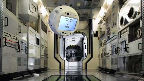 Featured image of Meet CIMON: The Floating AI That Will Live on the International Space Station