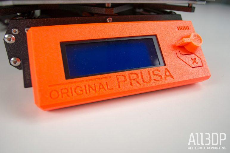 Image of Avis et test de l'Original Prusa i3 MK3: Assemblage du panneau de contrôle LCD