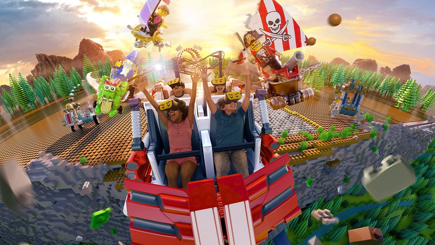 Legoland to Open VR Roller Coaster Ride in Florida | All3DP