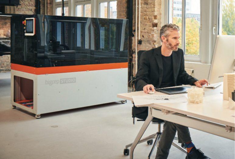 Image of Large 3D Printer (Large-Format / Large-Scale / Large-Volume): BigRep Studio