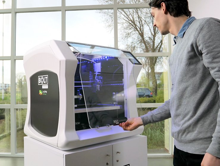 Image of Best 3D Printers for Schools & Education: Leapfrog Bolt Pro