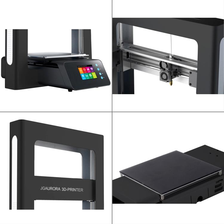Jgaurora A5s 3d Drucker Top Qualität Desktop Printing Maschine Mit Touchscreen Große Bauen Größe 305*305*320mm Computer & Büro Büroelektronik