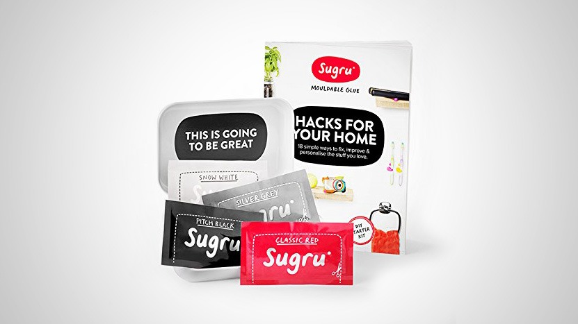 Featured image of [DEAL] Sugru Hacks for Your Home Kit, 14% Off at $12.95