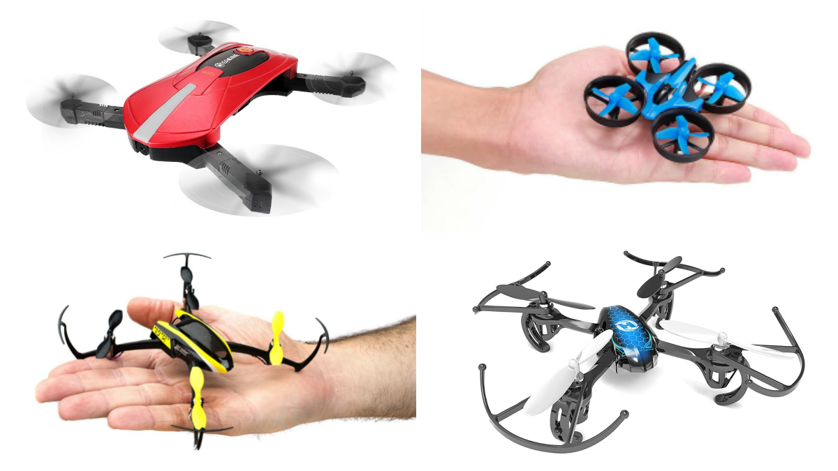 25 Best Micro & Mini Drones of 2018 | All3DP