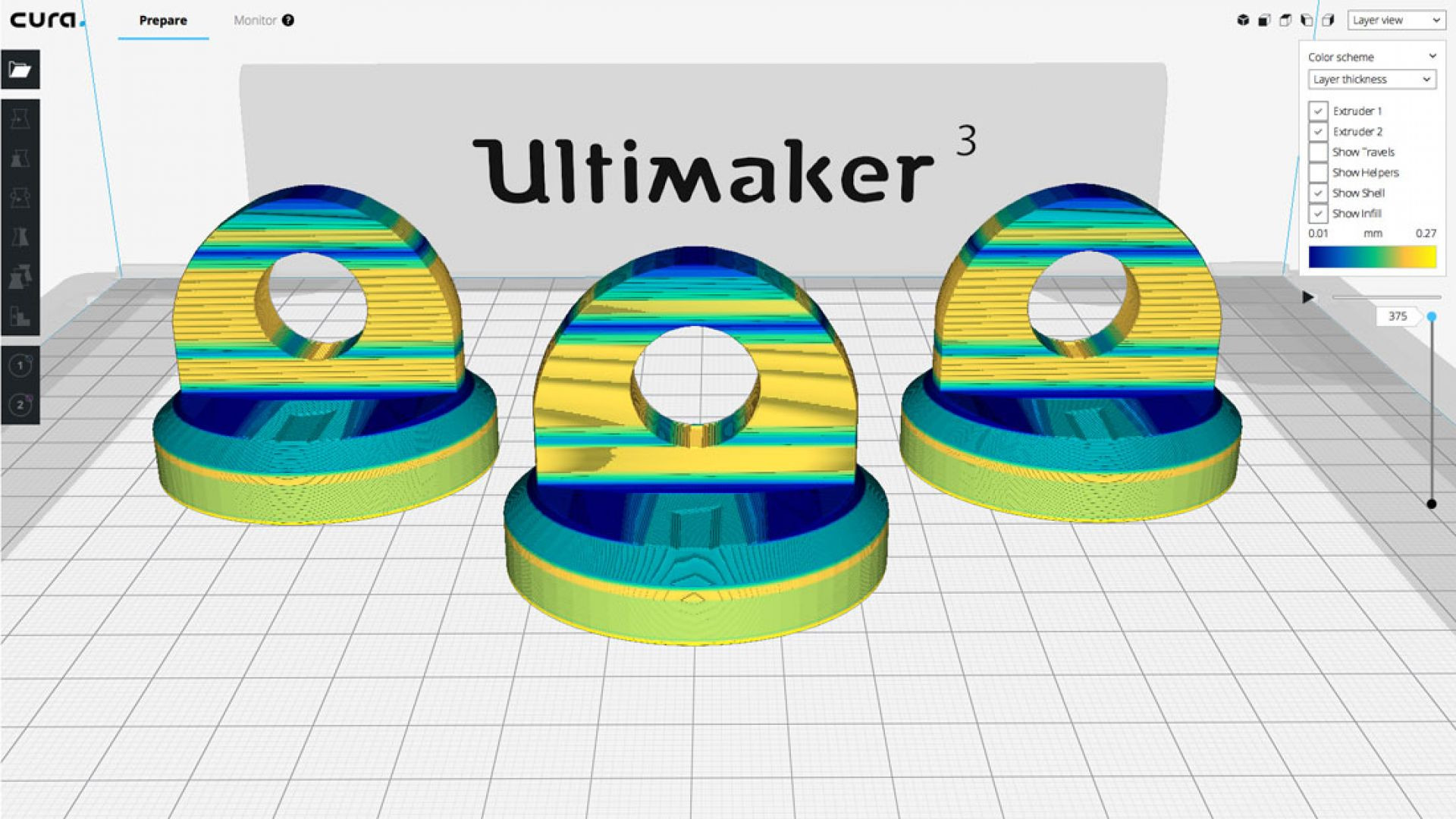 Ultimaker Cura 3.2 Adds Experimental Supports and Layer Features, Improves UI   All3DP