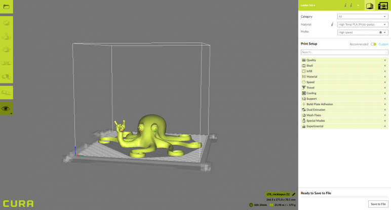 Image of Lulzbot TAZ 6 Review: Software