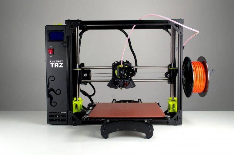 Image of LulzBot TAZ 6: Bestes 3D-Drucker-Arbeitstier