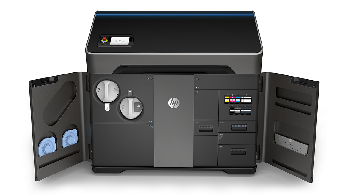 New HP Jet Fusion 300 / 500 Series With Full Color 3D Printing | All3DP