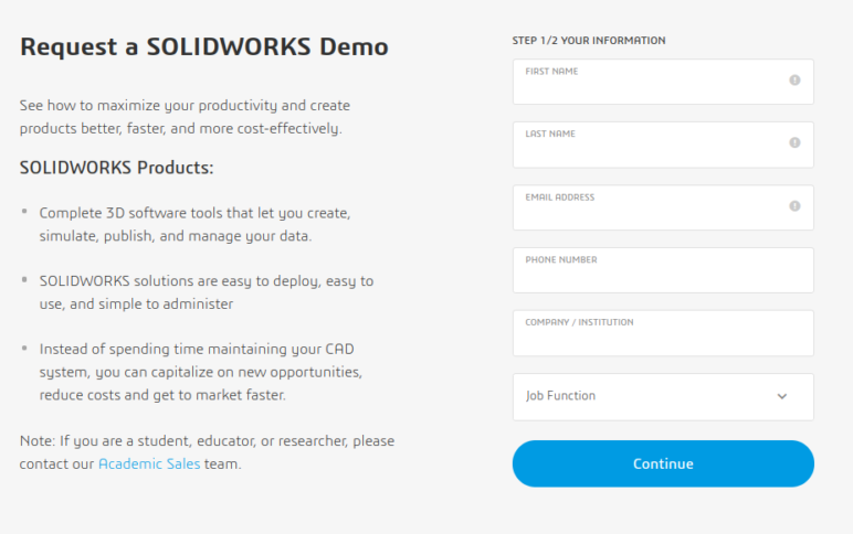 can you download solidworks for free