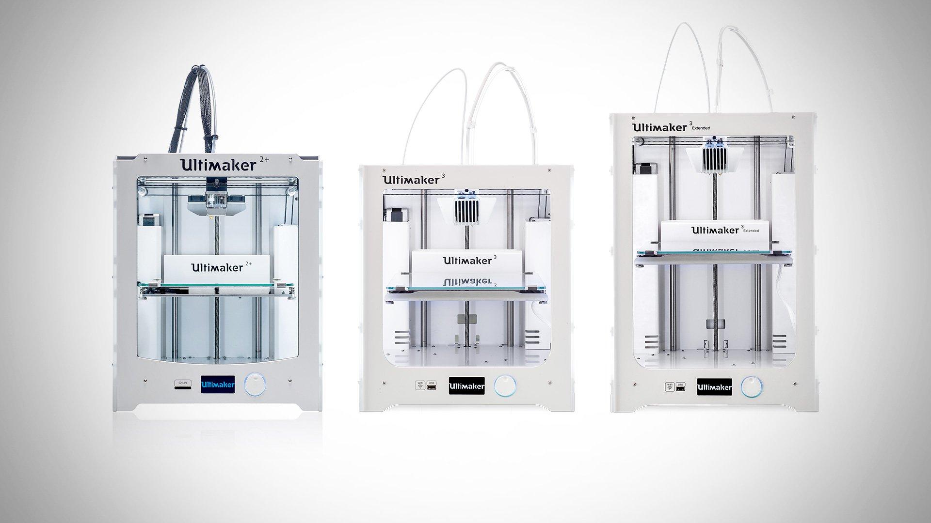[DEAL] Ultimaker 3D Printers (Refurbished), 10-15% Off at MatterHackers | All3DP