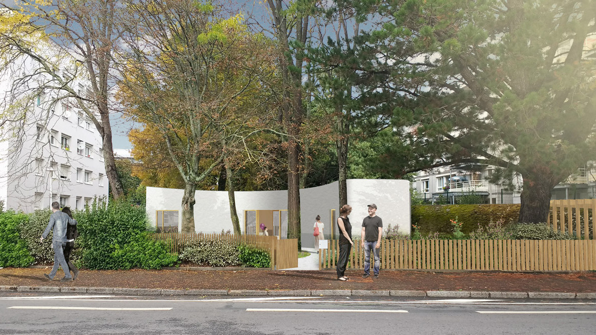 3D Printed 95 m² Yhnova House in Nantes is Now Habitable | All3DP