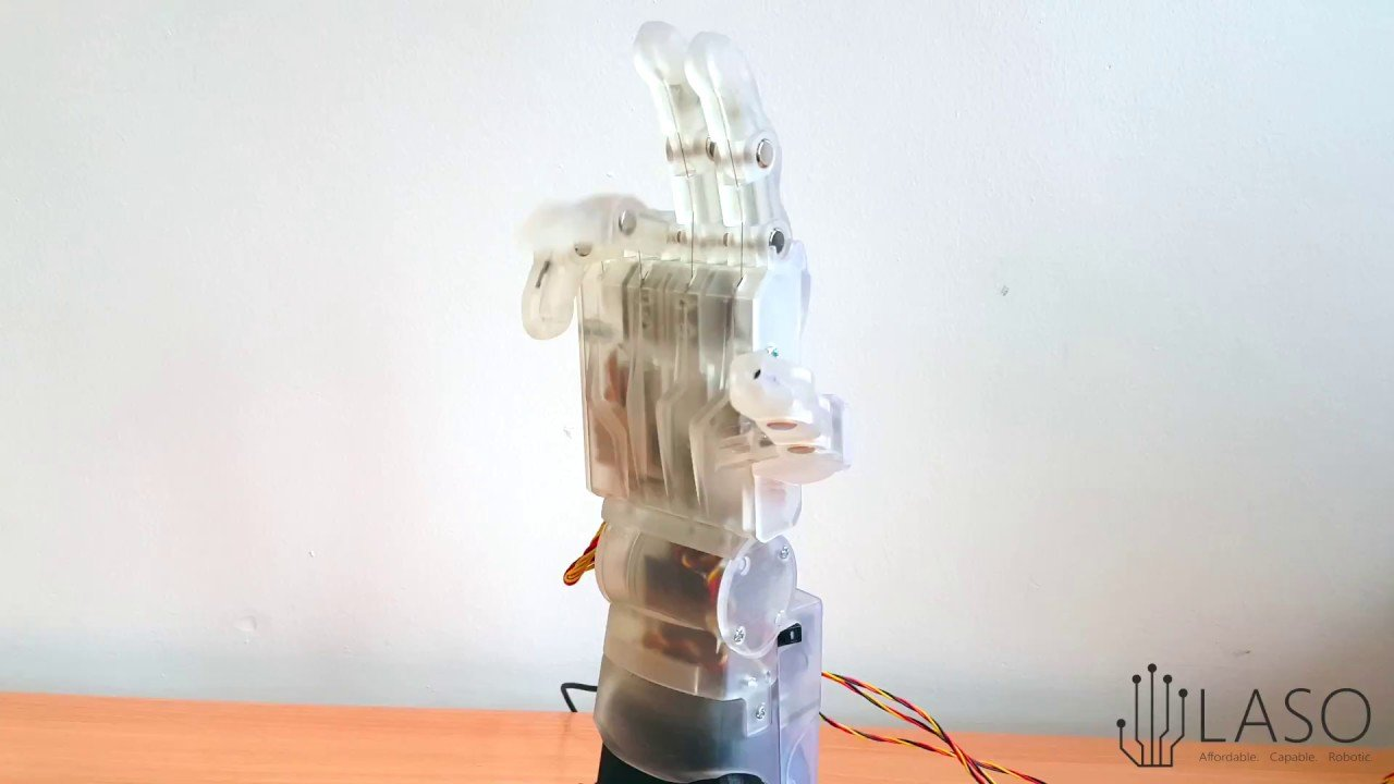 Researchers 3D Print Functional Robotic Prosthetic Hand at a Fraction of the Cost | All3DP