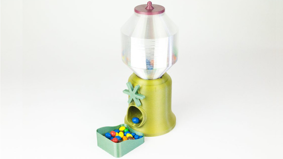[Project] 3D Printed Candy Dispenser | All3DP