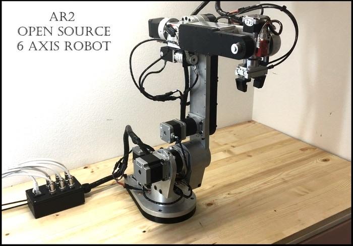 6-Axis Open-Source Robot Arm is Now on Kickstarter | All3DP