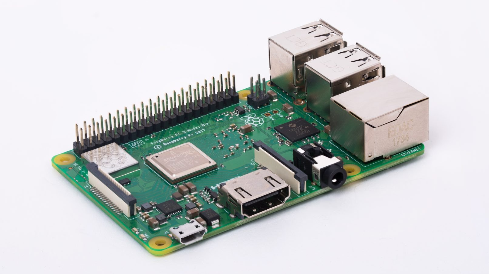 New Raspberry Pi 3 B+: Faster Chipset, Better Network Features, Same Price | All3DP