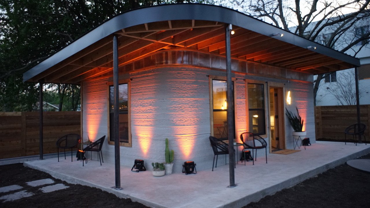 Featured image of Live at SXSW: $4,000 3D Printed Homes for Those Who Lack Shelter