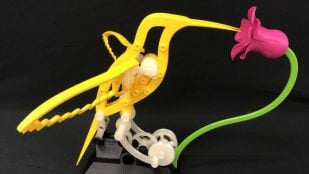 Featured image of Weekend Project: 3D Print a Mechanical Hummingbird