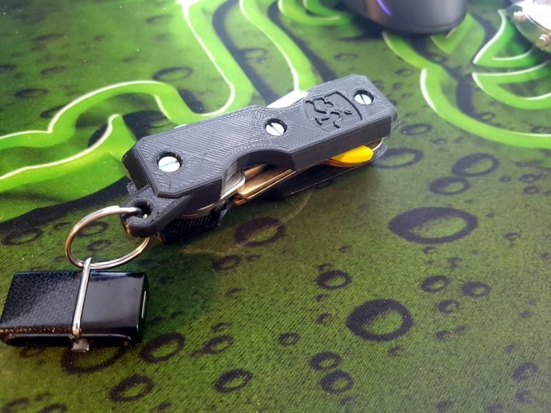 Image of Fun Things to 3D Print in an Hour (or Less): Proteus Key Holder