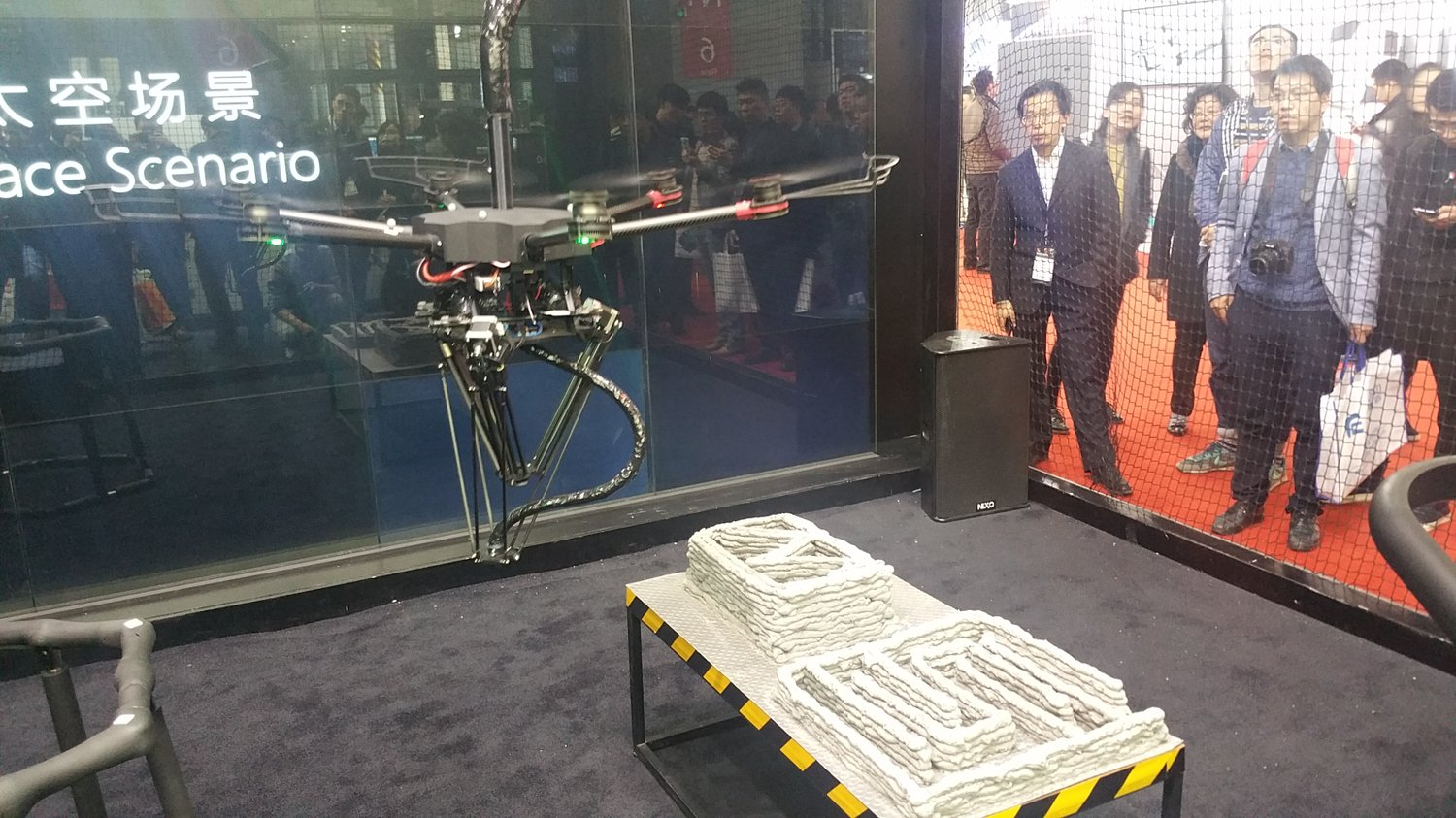 DediBot's Flying 3D Printer Soars Into TCT Asia 2018 | All3DP
