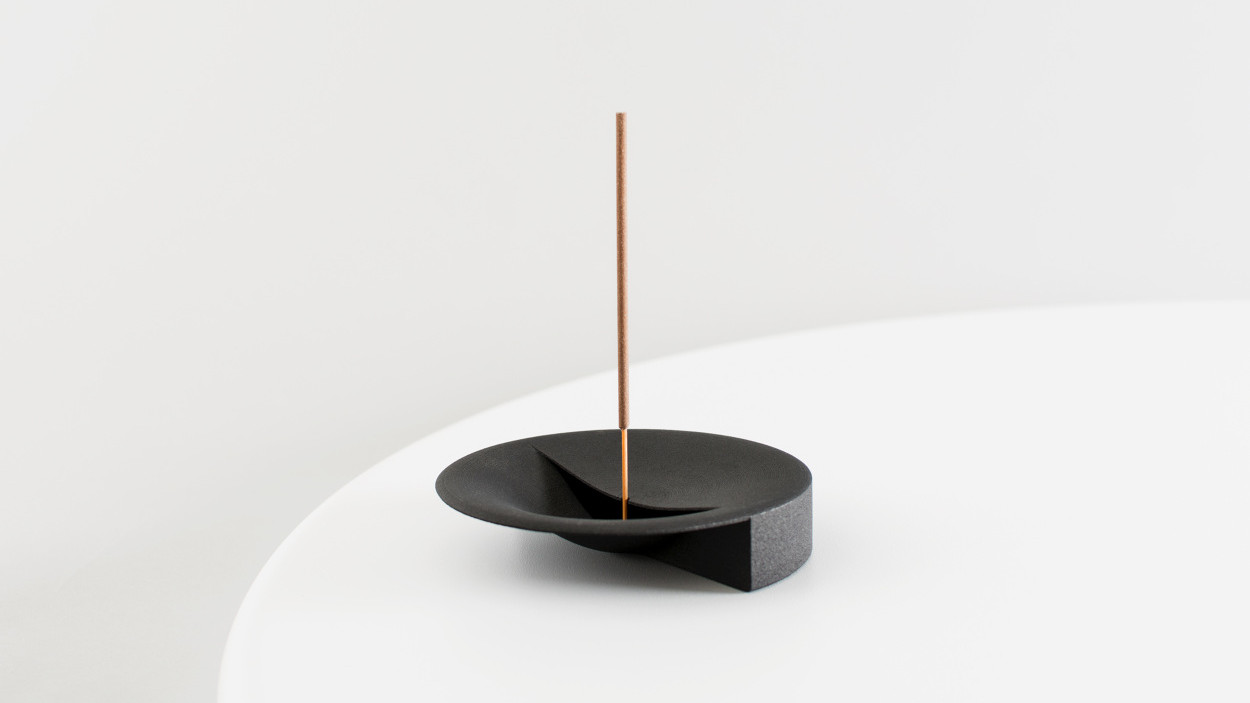 Scent Tray is a Beautiful 3D Printed Incense Holder and Ashtray | All3DP