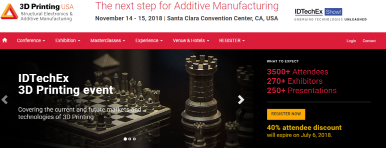 Image of Additive Manufacturing / 3D Printing Conference: Nov. 14-15, 2018 - 3D Printing USA