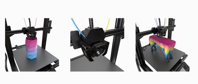 Image of M3D Crane Quad 3D Printer: Review the Facts: Review the Specs