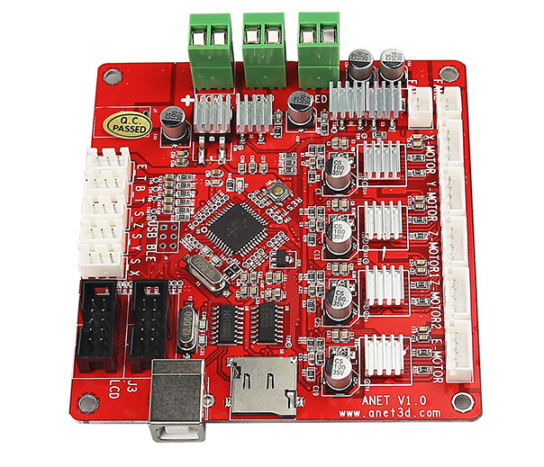 The Anet A8 motherboard