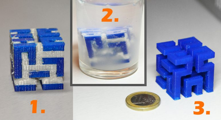 Image of 3D Printing Support Structures: Dissolvable 3D printing support structures